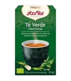 Yogi tea te verde harmonia bio 17 bolsitas