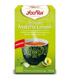Yogi tea te verde matcha limon bio 17 bolsitas