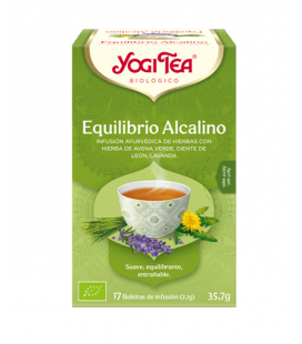 YOGI TEA EQUILIBRIO ALCALINO BIO 17 BOLS