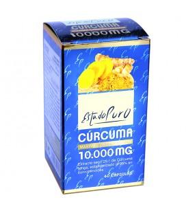 Curcuma 10.000 mg 40 capsulas estado puro