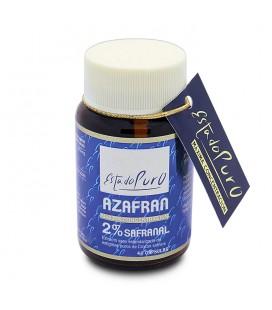 Azafran 2% safranal 40 capsulas estado puro