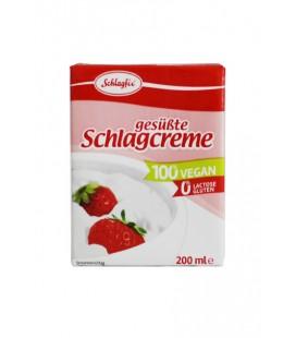 Nata vegetal dulce para montar y cocinar 200 ml schlagfix