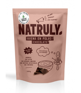 NATURAL AVENA EN POLVO CHOCOLATE BIO 500 G