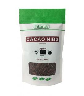 Cacao bio criollo en nibs nuevo formato 200gr