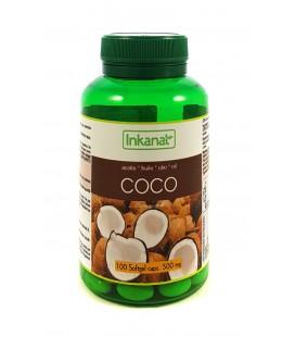 Perlas aceite de coco 500 mg