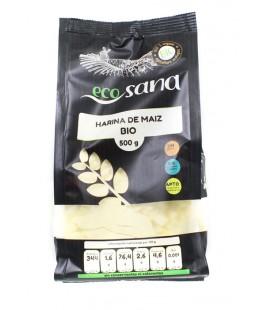 Harina maiz bio 500gr ecosana