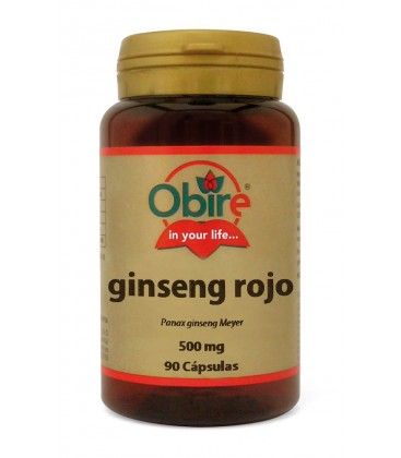 GINSENG ROJO (EXT SECO) 500MG 90CAPS