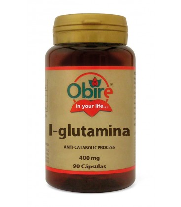 L GLUTAMINA 400MG 90CAPS