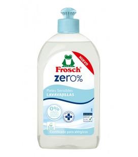 Lavavajillas pieles sensibles frosch zero 500ml