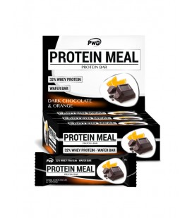 Barrita chocolate negro y naranja protein meal 35gr