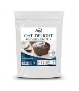 Harina de avena oat delight 40% whey protein chocolate 1.5 kg