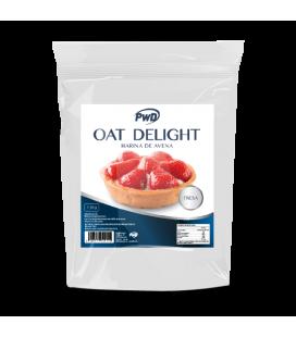 Harina de avena oat delight fresa 1.5 kg