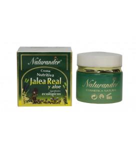 Crema hidratante jalea y aloe naturandor