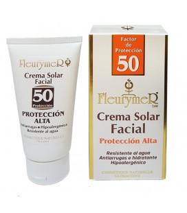 Crema solar facial spf 50 tubo 80ml