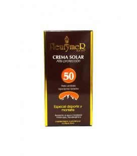 Crema solar facial 'montaña' spf 50 tubo 80ml
