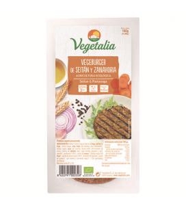 Refrig vegeburguer seitan zanahoria bio 160 g ccpae