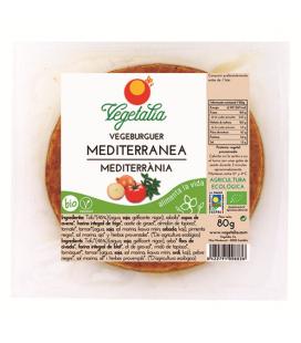 Refrig vegeburguer mediterranea bio 80 g ccpae