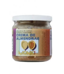 Crema de almendras bio monki 330 gr