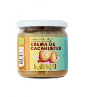 Crema de cacahuete bio monki 330 gr
