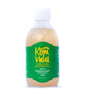 Komvida kombucha y te verde 500 ml