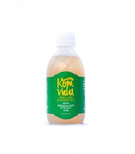 Komvida kombucha y te verde 250 ml