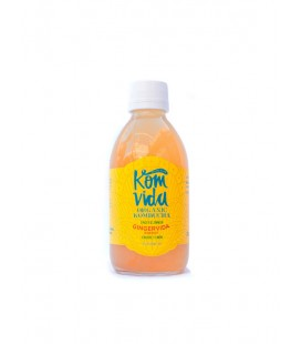 Komvida kombucha jengibre y limon 250 ml