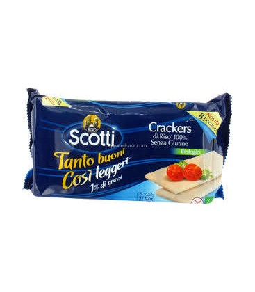 SCOTTI CRACKERS ARROZ 200gr