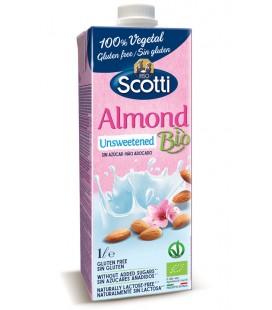 Scotti bebida bio almendra sin azúcar 1l
