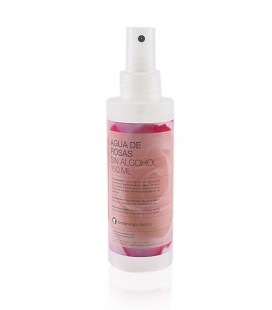 Agua de rosas spray sin alcohol 150ml