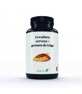 Levadura y germen t.600 mg 100 comp