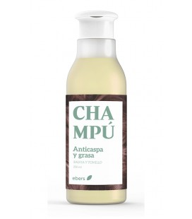 Champu anticaspa y grasa (salvia y tomillo) 250ml