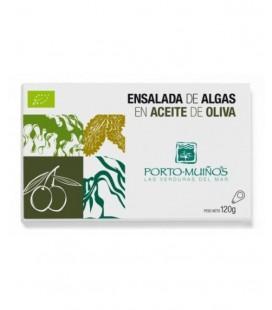 Ensalada de algas en aceite oliva lata