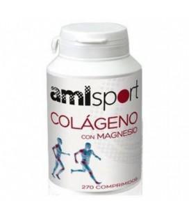 Colágeno con magnesio amisport 270comp