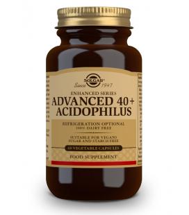 Solgar Ava.40 y Acidofilus Plus 60 cápsulas vegetal