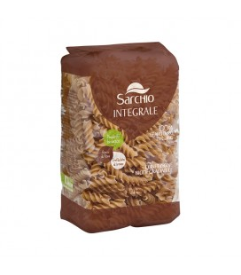 Fusilli semola de trigo duro integral bio 500 gr