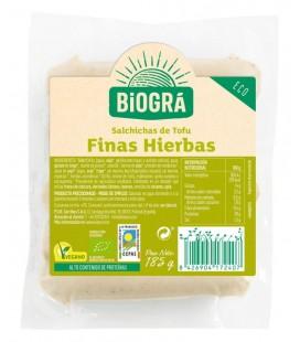 REFRIG SALCHICHAS DE TOFU FINAS HIERBAS 185 g