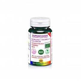 espirulina y chlorella bio 90 comp