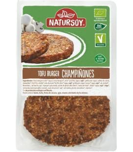 REFRIG HAMBURGUESA DE TOFU Y CHAMPIÑON 2 UND. 160 g Natursoy