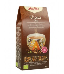 YOGI TEA CHOCOLATE CHAI BIO SUELTO 90 GR