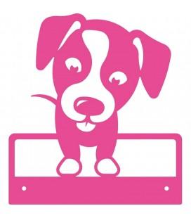 Mural Mod. Baby Dog rosa